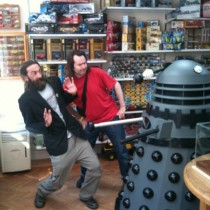 Dalek Trouble In Swanage